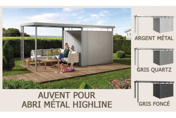 Auvent abri Highline Biohort