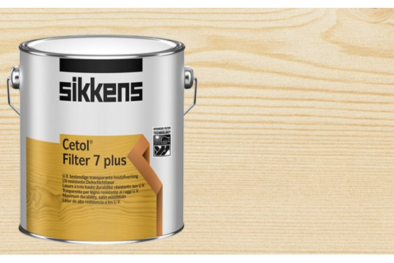 lasure de finition sikkens filter 7 plus - tous chalets