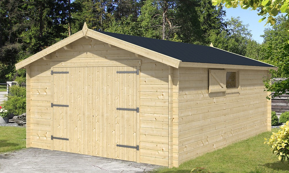 Garage limousin 34mm 15 3m int rieur for Garage interieur