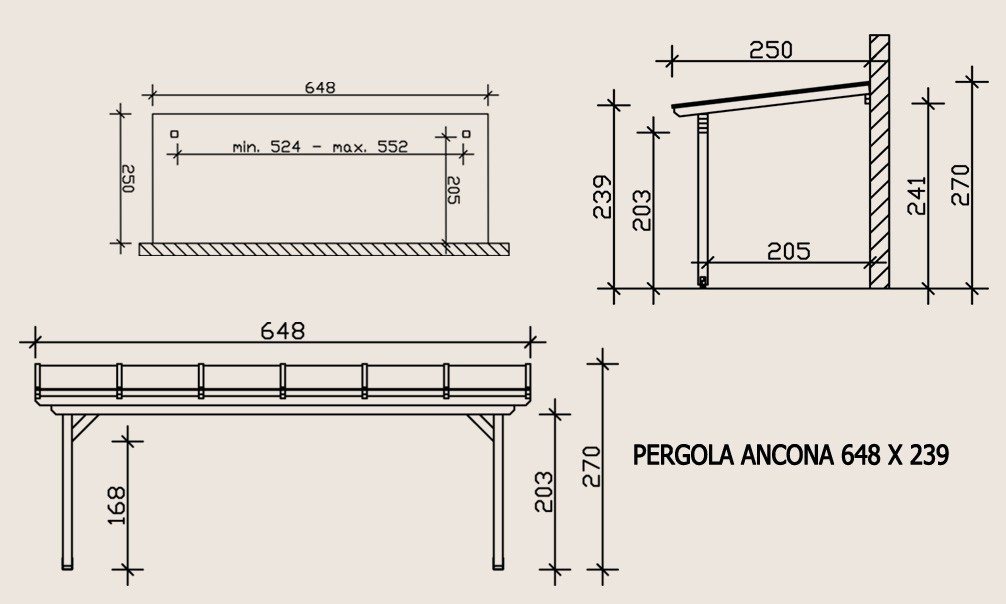 plan pergola bois excellent pergola bois pas cher et pergola en kit photo pergola en kit deck. Black Bedroom Furniture Sets. Home Design Ideas