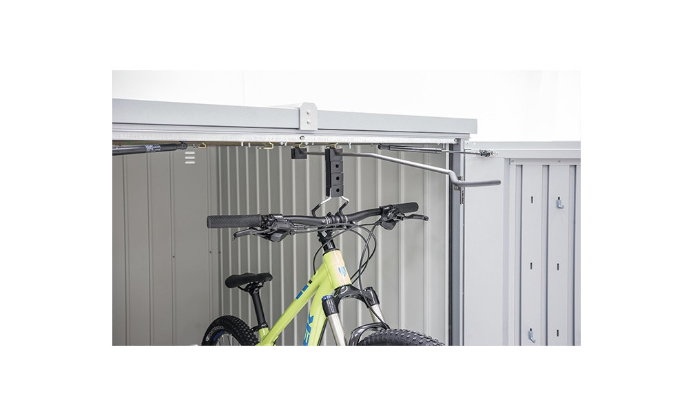 Rail v lo mini garage biohort - Suspension pour velo garage ...