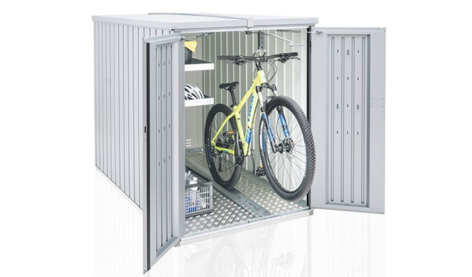 Mini garage biohort 122 x 203cm - Suspension pour velo garage ...